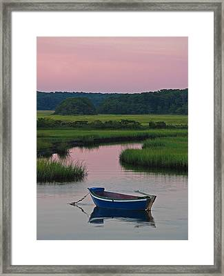 Idyllic Cape Cod Framed Print by Juergen Roth