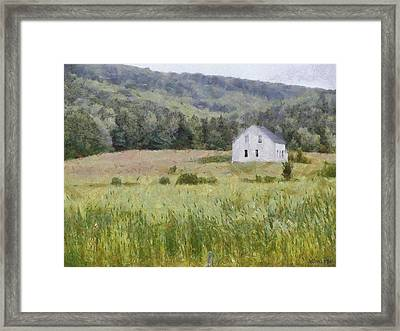 Idyllic Isolation Framed Print