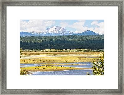 Idyllic Framed Print by Jan Davies
