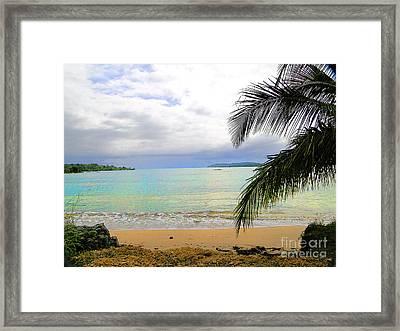Idyllic Paradise In Bocas Del Toro - Panama Framed Print by Al Bourassa