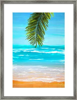 Idyllic Place Framed Print by Lourry Legarde