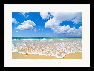 Lapping Framed Prints