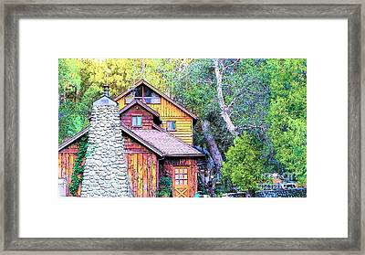 Idyllwild Cabin Framed Print