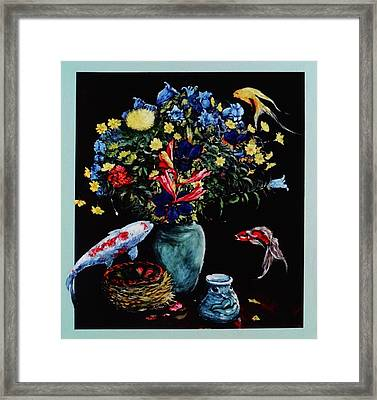 If All Fish Could Fly Framed Print