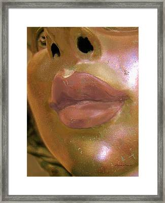 If Boticelli Had Painted A Mermaid Framed Print