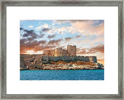 If Castle Framed Print by Gurgen Bakhshetsyan