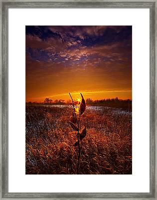 If Heaven Wasn't So Far Away Framed Print