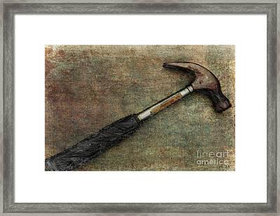 If I Had A Hammer... Framed Print by Rene Crystal