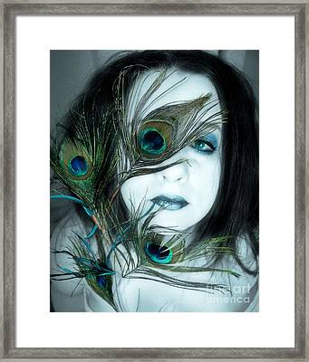 Framed Print featuring the photograph If I Let You In Would You Understand by Heather King