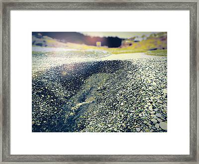 Framed Print featuring the photograph If It Weren't For The Rocks... by Zinvolle Art