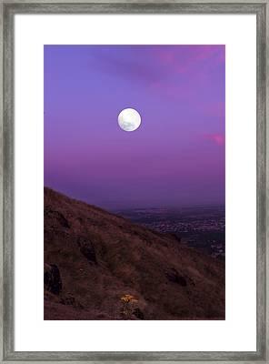 If... Framed Print
