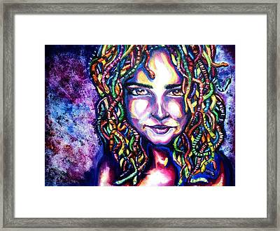 If Looks Could Kill Framed Print by Shana Rowe Jackson