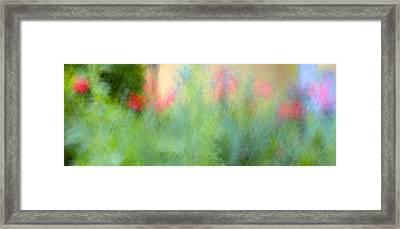 If My Front Yard Was Giverny Framed Print by Theresa Tahara