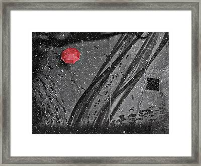 If On A Winter's Day Framed Print by Nicoleta Gabor