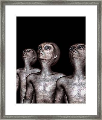 If One Was Three Framed Print
