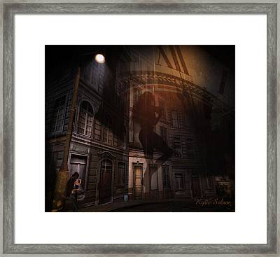 If Only Life Were Different Framed Print by Kylie Sabra