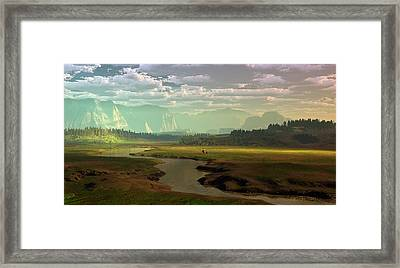 If Only Time Could Sleep Framed Print by Dieter Carlton
