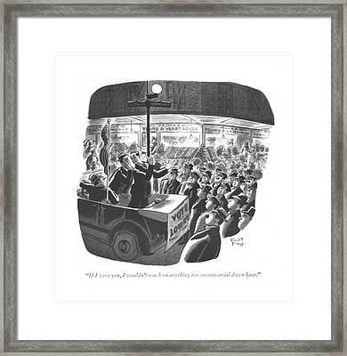 If Framed Print