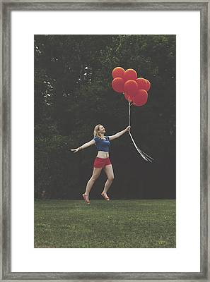 If Supergirl Needed Help Framed Print