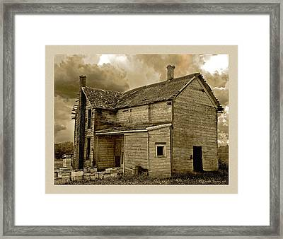 If The House Is Rockin' . . . Framed Print by Everett Bowers