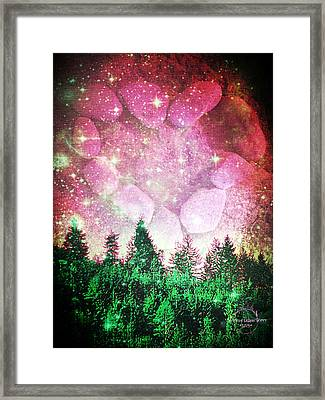 If The Sky Was Pink... Framed Print by Absinthe Art By Michelle LeAnn Scott
