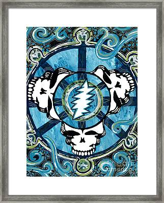 If The Thunder Dont Get Ya Then The Lightnin Will Framed Print