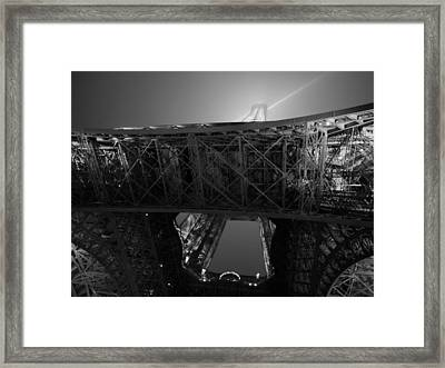 If The Tower Had Legs Framed Print by Humberto Laviera