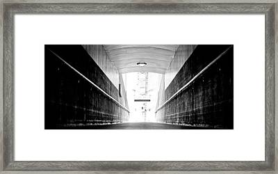 If These Walls Could Talk Framed Print by Andrew Raby