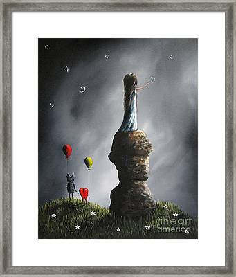 If This Is Love By Shawna Erback Framed Print