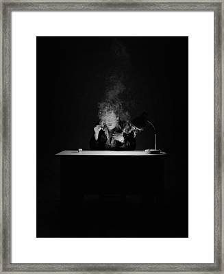 If This Is True Framed Print by Evgeniy Lankin