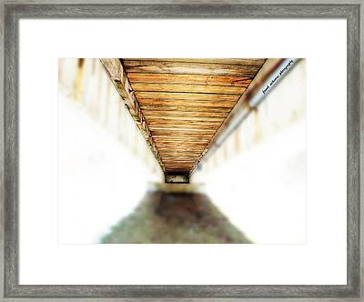 If You Can See The End You Have A Vision Better Than Most Framed Print by Frank Sciberras