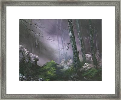 If You Go Down In The Woods Today ? Framed Print