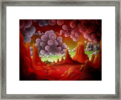 Framed Print featuring the painting If You Only Knew by Richard Dennis