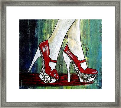 If You Walked In My Shoes Framed Print