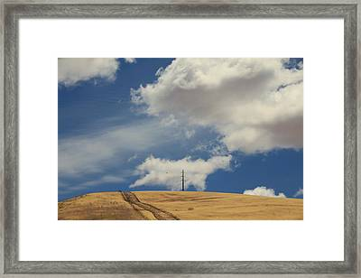 If You Wanna Run Away Framed Print by Laurie Search