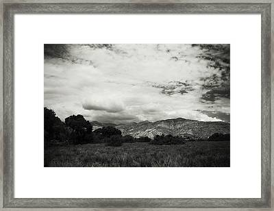 If Your Strength Is Gone Framed Print by Laurie Search