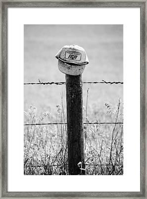 Iga Hat Framed Print by Jerry Cordeiro