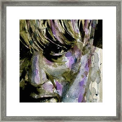 Iggy Framed Print by Paul Lovering