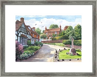 Ightam Village Framed Print
