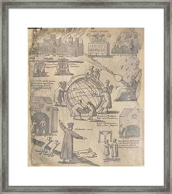Ignatian Fire-works Framed Print by British Library