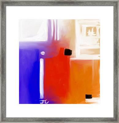 Ignite. Framed Print