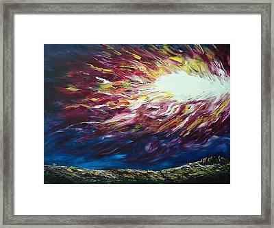 Ignited Framed Print by Pamela Blayney