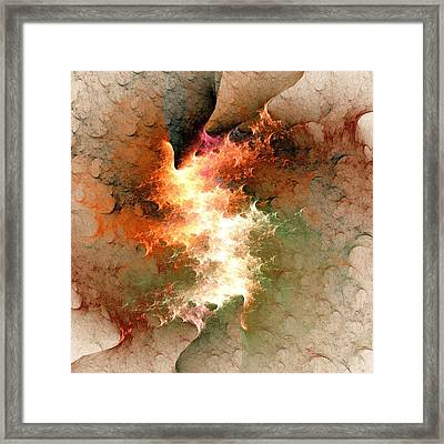Ignition Framed Print by Anastasiya Malakhova