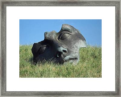 Igor Mitoraj Sculpture 1 Framed Print by Gerry Bates