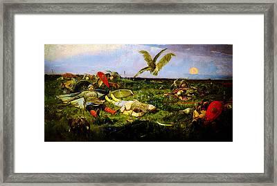 Igorsvyat Viktor Vasnetsov Framed Print