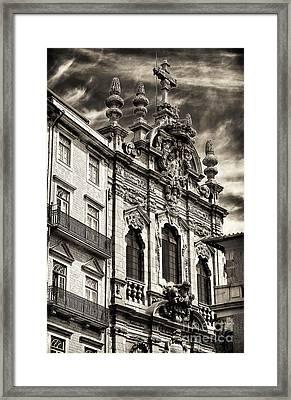Igreja Da Miscericordia Framed Print by John Rizzuto