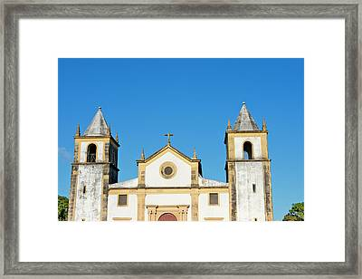 Igreja Da Se, Olinda (unesco World Framed Print by Keren Su
