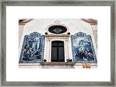 Igreja Da Vera Cruz Framed Print by John Rizzuto