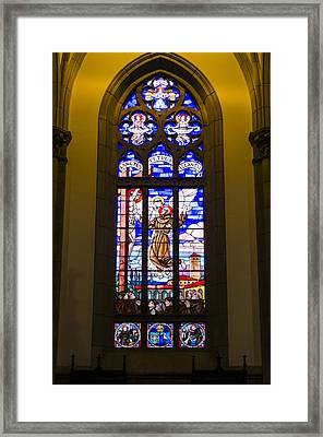 Igreja Luterana - Petropolis Brazil Framed Print by Jon Berghoff
