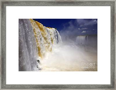 Iguazu Falls I Framed Print by Bernardo Galmarini